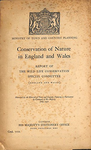 9780108501906: Conservation of Nature in England and Wales (Command 7122)