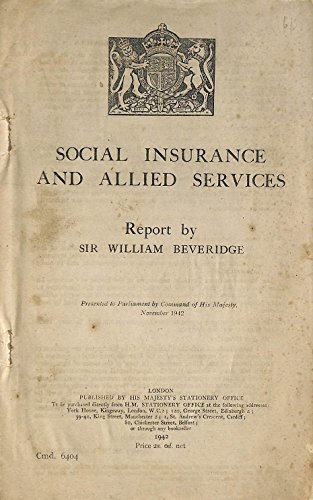 9780108502767: Social Insurance and Allied Services (Command Paper)