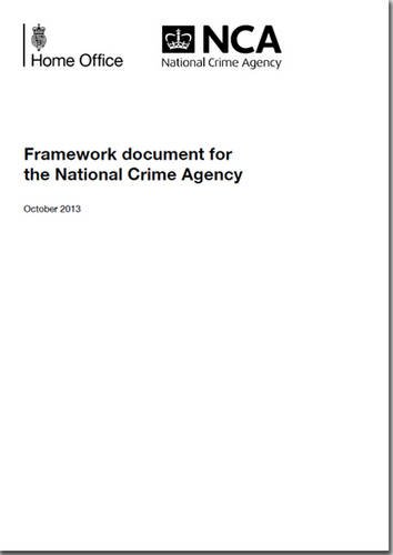9780108512759: Framework Document for the National Crime Agency
