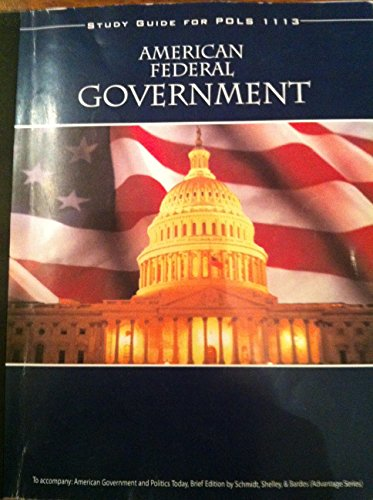 9780111320105: American Federal Government Study Guide for Pols 1113