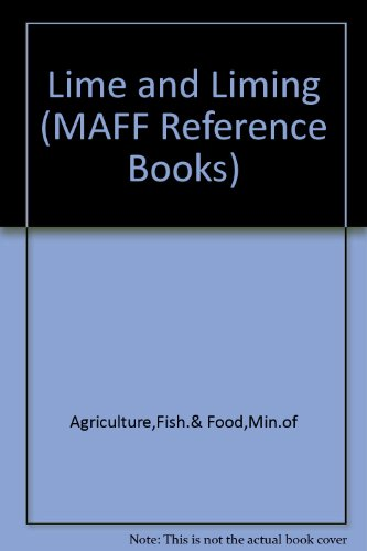 9780112406396: Lime and Liming (MAFF Reference Books)
