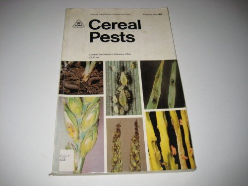 9780112425380: Cereal Pests (MAFF Reference Books)