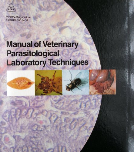 9780112427247: Manual of Veterinary Parasitological Laboratory Techniques (Reference book)