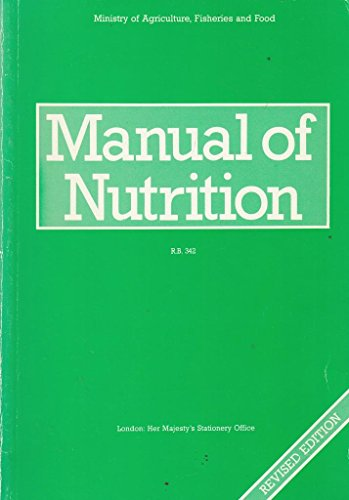 9780112427391: Manual of Nutrition