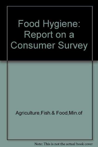9780112428312: Food Hygiene: Report on a Consumer Survey