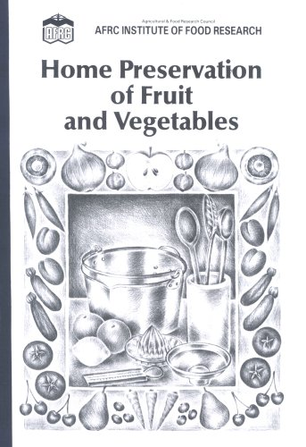 9780112428640: Home Preservation of Fruit and Vegetables