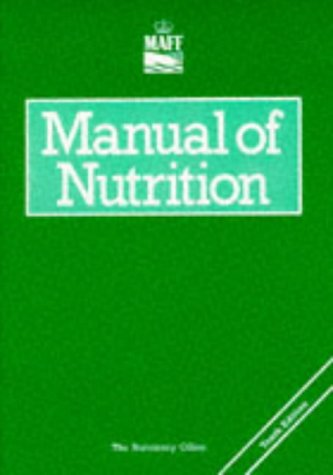 9780112429913: Manual of Nutrition (Reference Books)