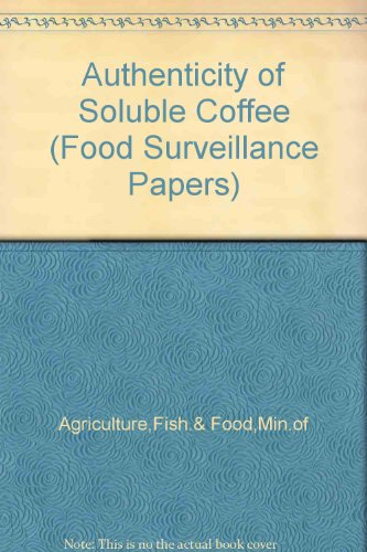 9780112429951: Authenticity of Soluble Coffee (Food Surveillance Papers)