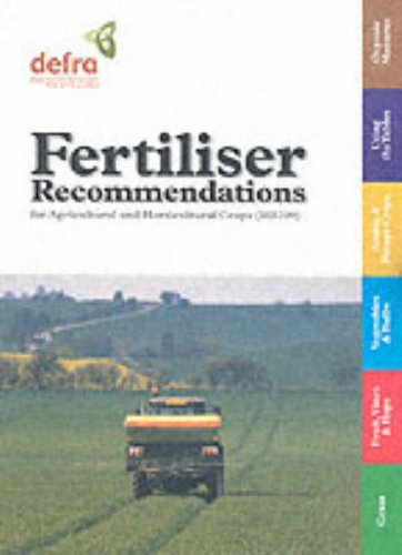 9780112430582: Fertilizer Recommendations for Agricultural and Horticultural Crops (Rb209) (Reference Books)