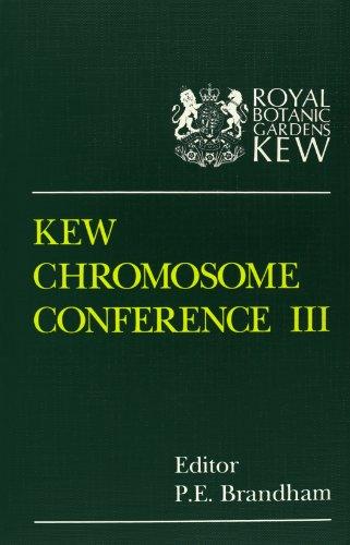Kew Chromosome Conference III: P. E. Brandham