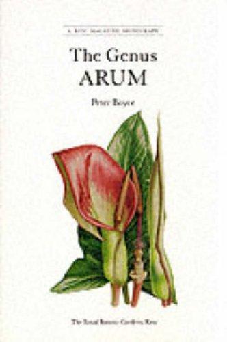 9780112500858: The Genus Arum (A Kew Magazine Monograph)