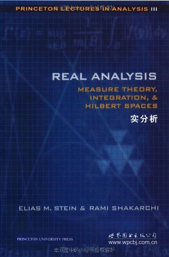 9780112569459: Real Analysis: Measure Theory, Integration, and Hilbert Spaces (Princeton Lectures in Analysis) (Bk. 3)