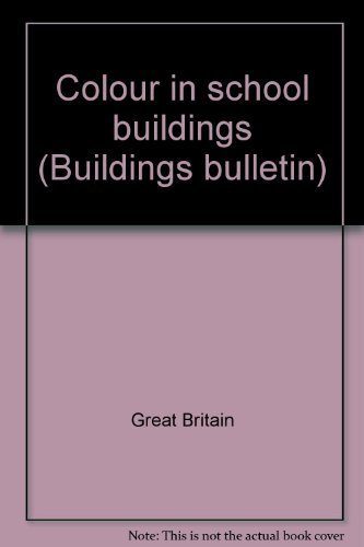9780112700937: Colour in school buildings (Building bulletin)