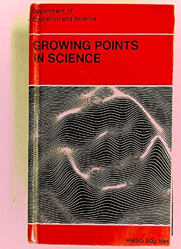 9780112702351: Growing Points in Science