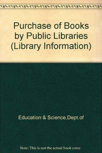 9780112702641: Purchase of Books by Public Libraries (Library Information)