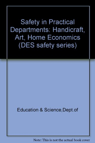 Safety in Practical Departments: Handicraft, Art, Home: Education & Science,Dept.of