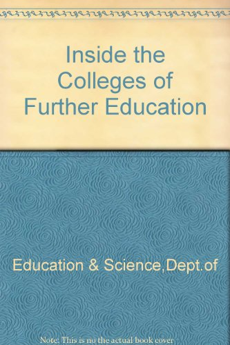 9780112703310: Inside the Colleges of Further Education