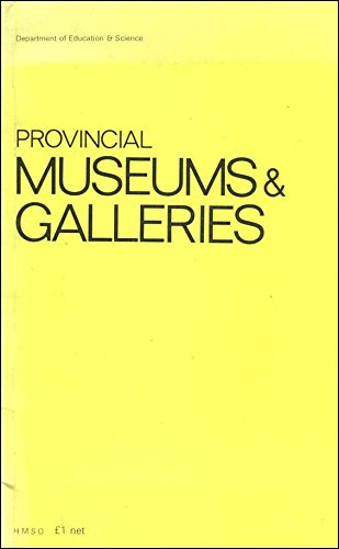 9780112703440: Provincial Museums and Galleries