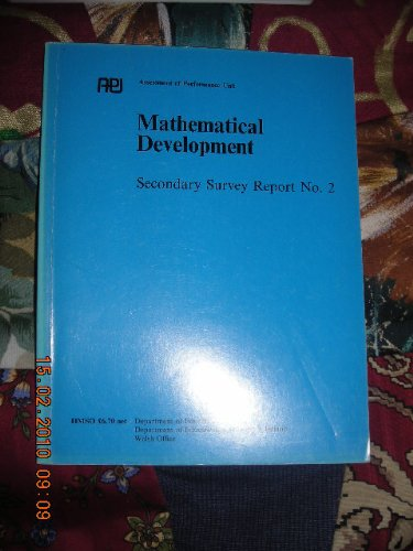 9780112705178: Mathematical Development: Secondary Survey, 2: England and Wales (Secondary survey report)