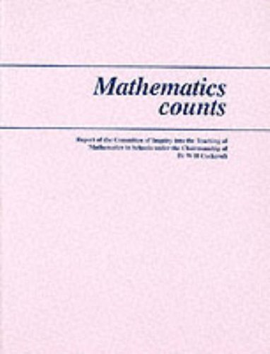 9780112705222: Mathematics Counts: Report of the Committee of Inquiry into the Teaching of Mathematics in Schools