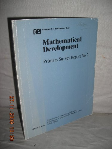 9780112705475: Mathematical Development: Primary Survey, 2: England and Wales