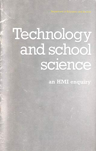 9780112705741: Technology and School Science