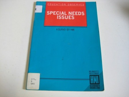 9780112707226: Special Needs Issues: A Survey (Education Observed)