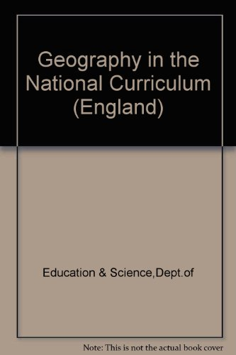 9780112707363: Geography in the National Curriculum (England)