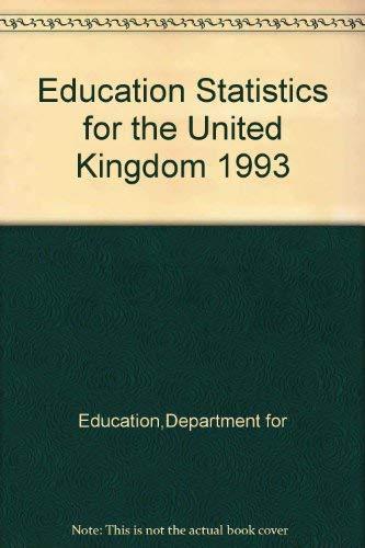 9780112708728: Education Statistics for the United Kingdom 1994