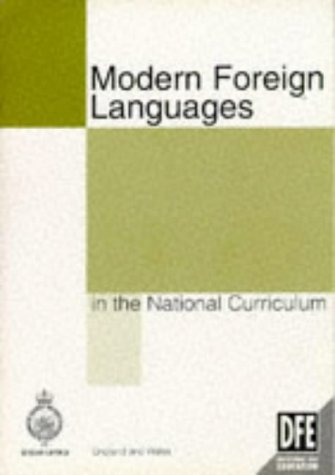 9780112708896: Modern Foreign Languages in the National Curriculum (Department for Education)