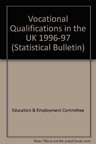 9780112710301: Vocational Qualifications in the UK 1996-97 (Statistical Bulletin)