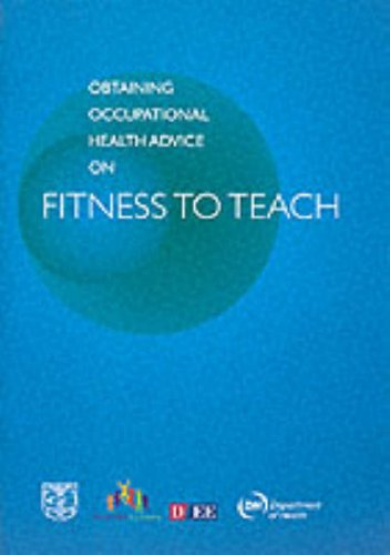 9780112710912: Obtaining Occupational Health Advice on Fitness to Teach: A Guide for Teacher Employers and Managers and for College Admissions and Pastoral Care Tutors