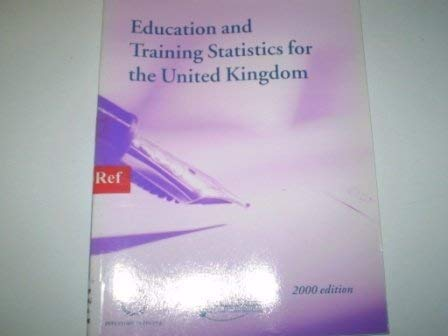 9780112711001: Education and Training Statistics for the United Kingdom 2000