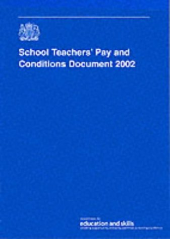 9780112711292: School Teachers' Pay and Conditions Document 2002