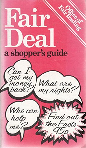 9780112800170: Fair Deal: A Shopper's Guide