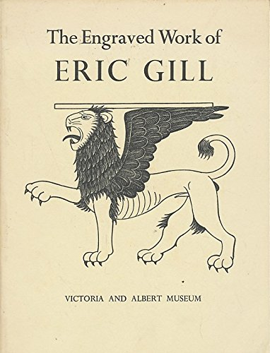9780112900405: Engraved Work of Eric Gill (Large Picture Book)