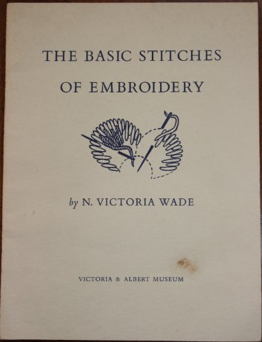 9780112900863: Basic Stitches of Embroidery