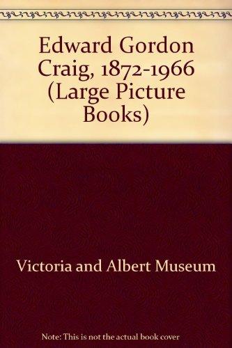 9780112901105: Edward Gordon Craig, 1872-1966 (Large Picture Books)