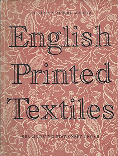 9780112901433: English Printed Textiles, 1720-1836 (Large Picture Books)