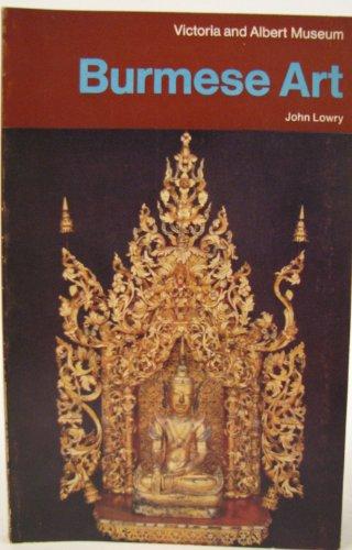 9780112901792: Burmese Art