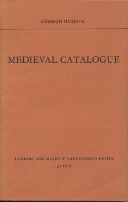 9780112901815: Medieval Catalogue