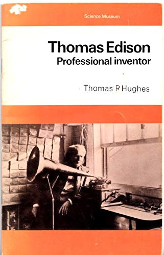 9780112902256: Thomas Edison, Professional Inventor (A Science Museum booklet)