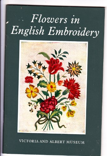 9780112902416: Flowers in English embroidery.