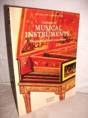 9780112903994: Catalogue of Musical Instruments: Vol.1: Keyboard Instruments: Vol 1