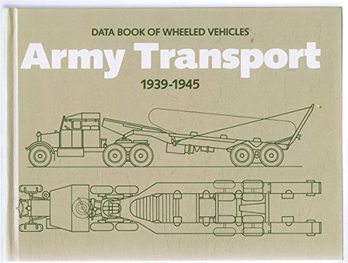 9780112904083: Army Transport, 1939-45: Data Book of Wheeled Vehicles