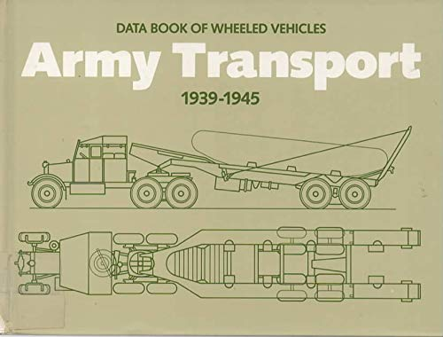 9780112904083: Data Book of Wheeled Vehicles Army Transport, 1939-1945