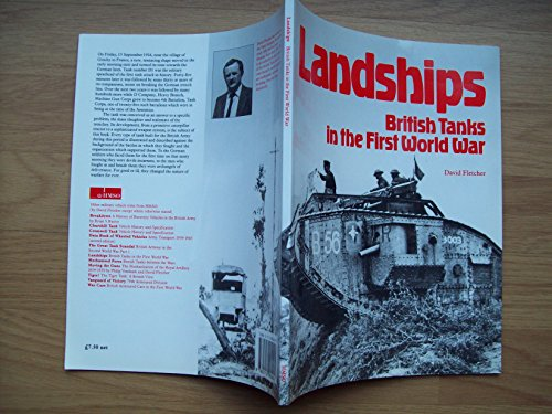 9780112904090: Landships: British Tanks of the First World War