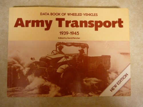 9780112905066: Army Transport, 1939-45: Data Book of Wheeled Vehicles