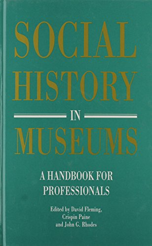 9780112905295: Social History in Museums: A Handbook for Professionals