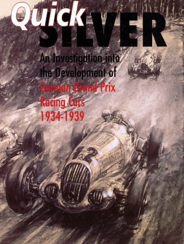 9780112905509: Quicksilver: A Facsimile of B.I.O.S. Report No. 1755 Investigation into the Development of German Grand Prix Racing Cars Between 1934 and 1939